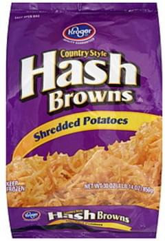 Kroger Hash Browns Country Style