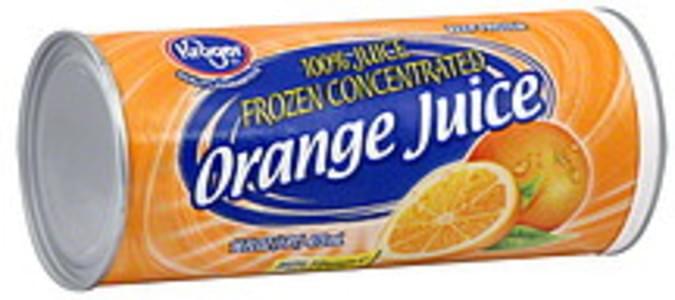Kroger 100% Juice Orange, Frozen Concentrated