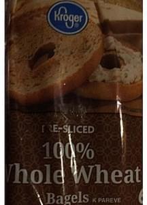Kroger Whole Wheat Bagels