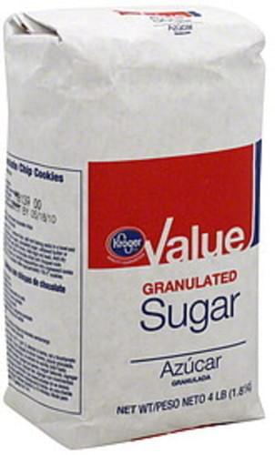 Kroger Granulated Sugar - 4 lb