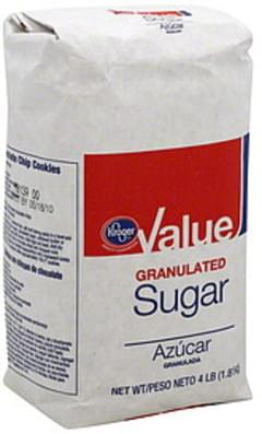 Kroger Sugar Granulated