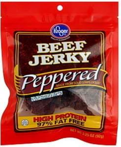 Kroger Beef Jerky Peppered