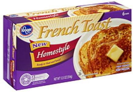 Kroger French Toast Homestyle