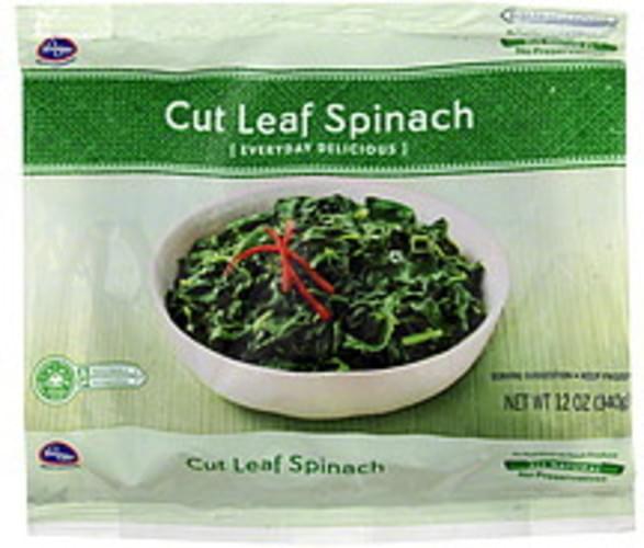 Kroger Cut Leaf Spinach - 12 oz
