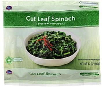 Kroger Spinach Cut Leaf