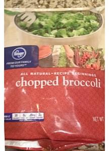 Kroger Chopped Broccoli