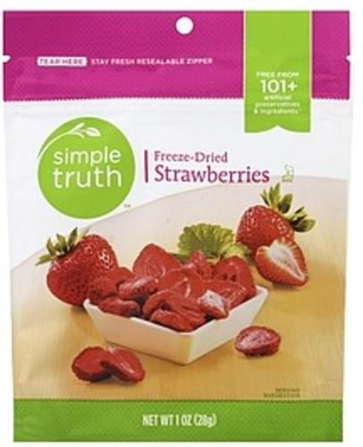 Simple Truth Freeze-Dried Strawberries - 1 oz