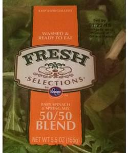 Fresh Selections Baby Spinach & Spring Mix