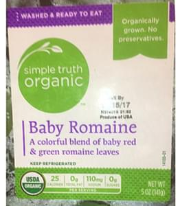 Simple Truth Organic Baby Romaine