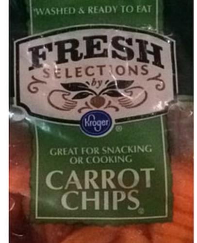 Kroger Carrot Chips - 85 g