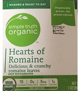 Simple Truth Organic Hearts of Romaine