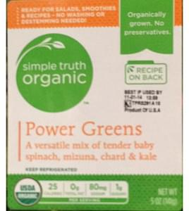 Simple Truth Organic Power Greens