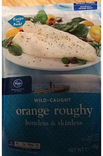 Kroger Boneless & Skinless Orange Roughy - 170 g