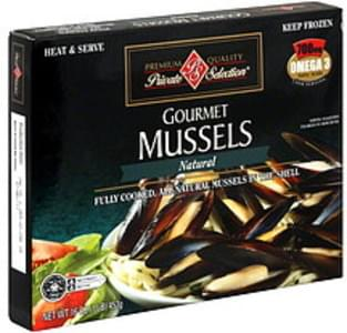 Private Selection Mussels Gourmet, Natural