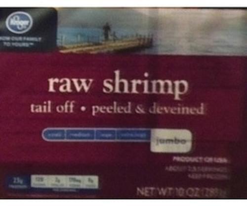 Kroger Raw Shrimp - 112 g