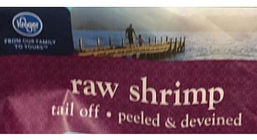 Kroger Large Raw Shrimp - 112 g