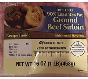 Kroger Ground Beef Sirloin