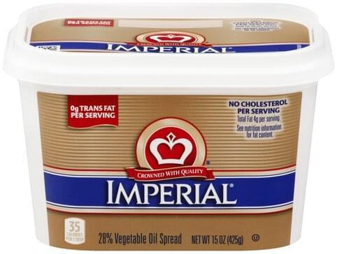 Imperial 28% Vegetable Oil Spread - 15 oz