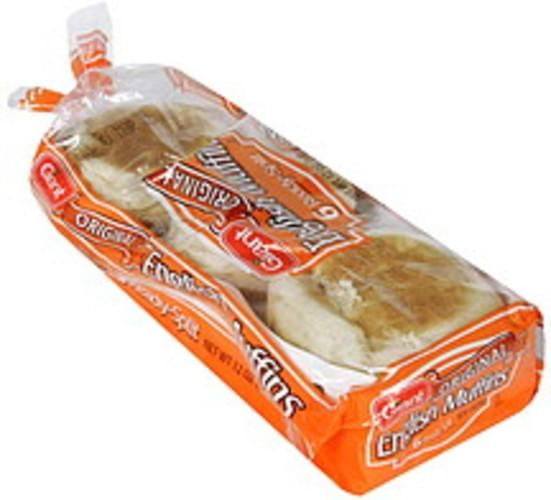 Giant Original, Ready-Split English Muffins - 6 ea