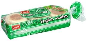 Giant English Muffins Lite