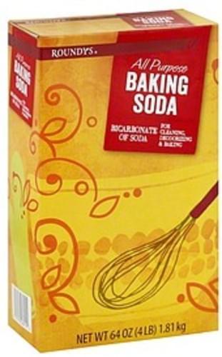 Roundys All Purpose Baking Soda - 64 oz