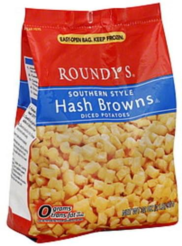 Roundys Southern Style Hash Browns Diced Potatoes - 32 oz