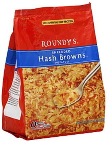 Roundys Shredded Hash Browns Potatoes - 30 oz