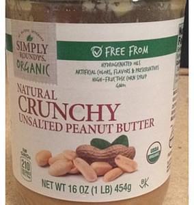 Roundy's Peanut Butter Organic