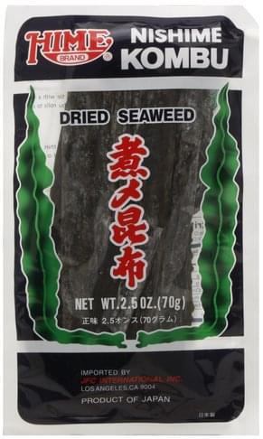 Hime Dried, Nishime Kombu Seaweed - 2.5 oz