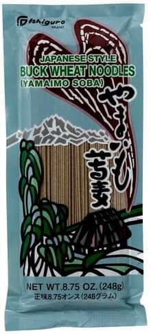 Ishiguro Japanese Style Buck Wheat Noodles - 8.75 oz