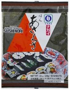 Nagais Sushi Nori Roasted Seaweed