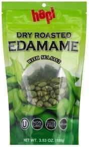 Hapi Edamame Dry Roasted, with Sea Salt