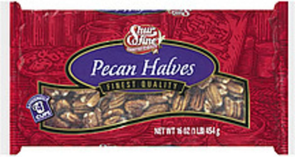 Shurfine Pecan Halves - 16 oz