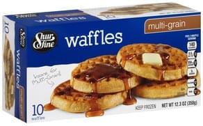 Shurfine Waffles Multi-Grain