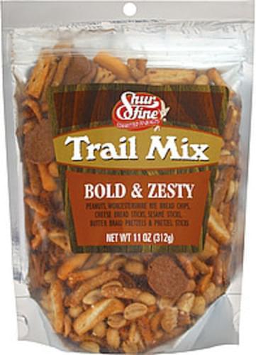 Shurfine Bold & Zesty Trail Mix - 11 oz