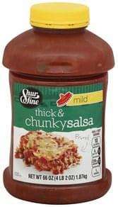 Shurfine Salsa Thick & Chunky, Mild