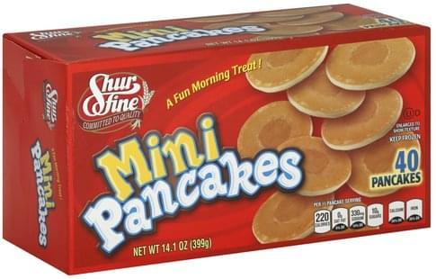 Shurfine Mini Pancakes - 40 ea