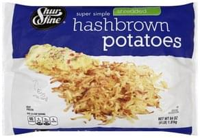 Shurfine Hashbrown Potatoes Super Simple, Shredded