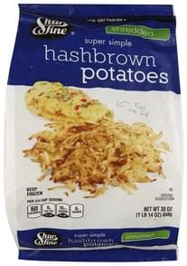 Shurfine Hash Brown Potatoes Super Simple, Shredded