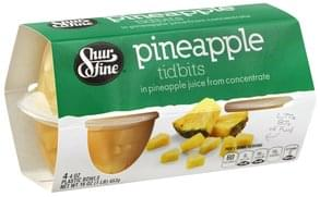 Shurfine Pineapple Tidbits