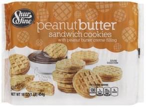 Shurfine Sandwich Cookies Peanut Butter
