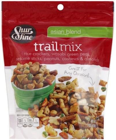 Shurfine Asian Blend Trail Mix - 7 oz