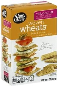 Shurfine Woven Wheats Reduced Fat