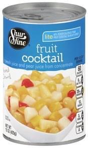Shurfine Fruit Cocktail Lite