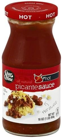 Shurfine Hot Picante Sauce - 16 oz
