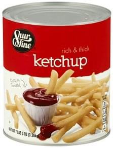Shurfine Ketchup