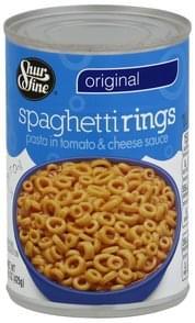Shurfine Spaghetti Rings Original