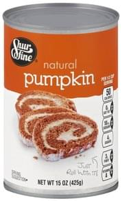 Shurfine Pumpkin Natural
