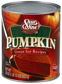 Shurfine Pumpkin