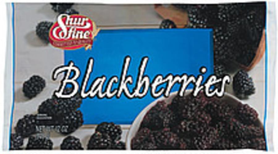 Shurfine Blackberries - 12 oz